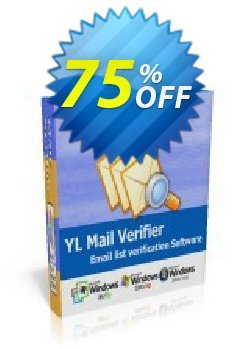 YL Mail Verifier - Corporate License Coupon, discount YL Mail Verifier - Corporate License hottest deals code 2019. Promotion: hottest deals code of YL Mail Verifier - Corporate License 2019