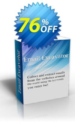 Email Excavator - 1 Year Subscription Coupon, discount Email Excavator - 1 Year Subscription wondrous discounts code 2019. Promotion: wondrous discounts code of Email Excavator - 1 Year Subscription 2019