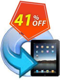 iFunia DVD to iPad Converter for Mac Coupon, discount iFunia DVD to iPad Converter for Mac special discount code 2020. Promotion: special discount code of iFunia DVD to iPad Converter for Mac 2020