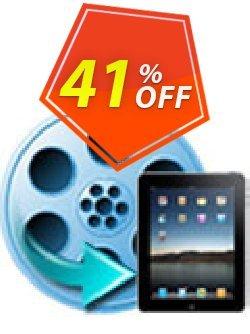 iFunia iPad Video Converter Coupon, discount iFunia iPad Video Converter fearsome deals code 2020. Promotion: fearsome deals code of iFunia iPad Video Converter 2020