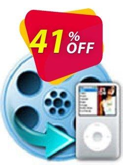 iFunia iPod Video Converter Coupon, discount iFunia iPod Video Converter marvelous promo code 2020. Promotion: marvelous promo code of iFunia iPod Video Converter 2020