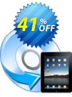 iFunia DVD to iPad Converter Coupon, discount iFunia DVD to iPad Converter awful promotions code 2019. Promotion: awful promotions code of iFunia DVD to iPad Converter 2019