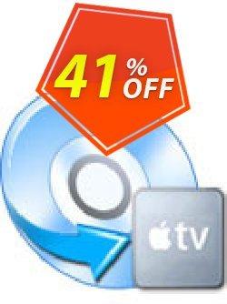 iFunia DVD to Apple TV Converter Coupon, discount iFunia DVD to Apple TV Converter amazing deals code 2020. Promotion: amazing deals code of iFunia DVD to Apple TV Converter 2020