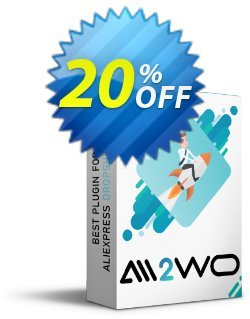 Ali2Woo Aliexpress Dropship for Woocommerce Coupon, discount Aliexpress Dropship for Woocommerce staggering discount code 2020. Promotion: staggering discount code of Aliexpress Dropship for Woocommerce 2020
