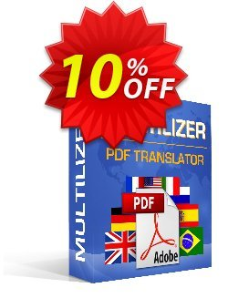 Multilizer PDF Translator Pro Coupon discount Multilizer PDF Translator Pro formidable sales code 2021 - formidable sales code of Multilizer PDF Translator Pro 2021