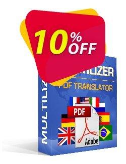 Multilizer PDF Translator Pro Coupon, discount Multilizer PDF Translator Pro formidable sales code 2020. Promotion: formidable sales code of Multilizer PDF Translator Pro 2020