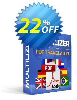 Multilizer PDF-översättare Standard Coupon discount Multilizer PDF-översättare Standard exclusive offer code 2021 - exclusive offer code of Multilizer PDF-översättare Standard 2021