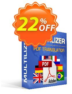 Multilizer PDF Übersetzer Standard Coupon discount Multilizer PDF Übersetzer Standard awesome discount code 2021 - awesome discount code of Multilizer PDF Übersetzer Standard 2021