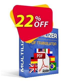 Multilizer PDF Übersetzer Standard Coupon, discount Multilizer PDF Übersetzer Standard awesome discount code 2020. Promotion: awesome discount code of Multilizer PDF Übersetzer Standard 2020