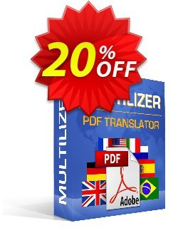 Multilizer PDF Translator Standard - polski  Coupon, discount Multilizer PDF Translator Standard (polski) dreaded offer code 2020. Promotion: dreaded offer code of Multilizer PDF Translator Standard (polski) 2020