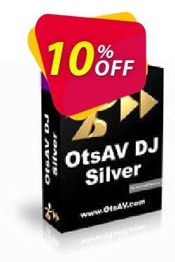 OtsAV DJ Silver Coupon, discount OtsAV DJ Silver amazing promo code 2021. Promotion: amazing promo code of OtsAV DJ Silver 2021