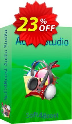 Soft4Boost Audio Studio Coupon, discount Soft4Boost Audio Studio super promo code 2020. Promotion: super promo code of Soft4Boost Audio Studio 2020