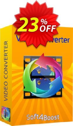 Soft4Boost Video Converter Coupon, discount Soft4Boost Video Converter fearsome discount code 2020. Promotion: fearsome discount code of Soft4Boost Video Converter 2020