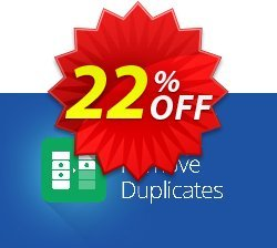 Remove Duplicates add-on for Google Sheets, 12-month subscription Coupon, discount Remove Duplicates add-on for Google Sheets, 12-month subscription dreaded deals code 2019. Promotion: dreaded deals code of Remove Duplicates add-on for Google Sheets, 12-month subscription 2019