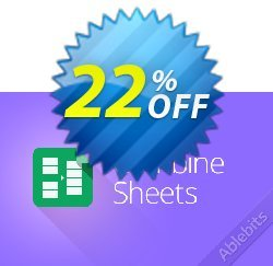 Combine Sheets add-on for Google Sheets Coupon, discount Combine Sheets add-on for Google Sheets, 12-month subscription amazing offer code 2020. Promotion: amazing offer code of Combine Sheets add-on for Google Sheets, 12-month subscription 2020