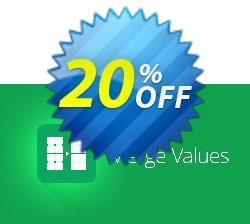 Merge Values add-on for Google Sheets Coupon, discount Merge Values add-on for Google Sheets, 12-month subscription marvelous discounts code 2020. Promotion: marvelous discounts code of Merge Values add-on for Google Sheets, 12-month subscription 2020