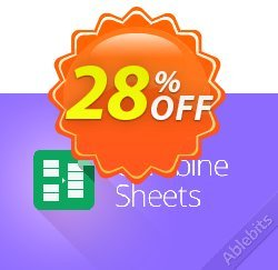 Combine Sheets add-on for Google Sheets, 1-month subscription Coupon, discount Combine Sheets add-on for Google Sheets, 1-month subscription awful promo code 2019. Promotion: awful promo code of Combine Sheets add-on for Google Sheets, 1-month subscription 2019
