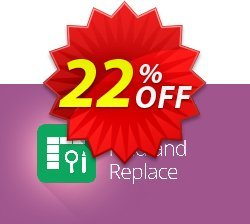 Advanced Find and Replace for Google Sheets, 12-month subscription Coupon, discount Advanced Find and Replace for Google Sheets, 12-month subscription big discounts code 2019. Promotion: big discounts code of Advanced Find and Replace for Google Sheets, 12-month subscription 2019