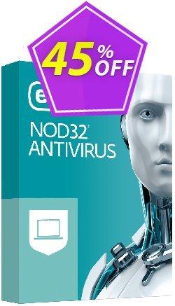 NOD32 Antivirus - Réabonnement 3 ans pour 2 ordinateurs Coupon, discount NOD32 Antivirus - Réabonnement 3 ans pour 2 ordinateurs exclusive sales code 2019. Promotion: exclusive sales code of NOD32 Antivirus - Réabonnement 3 ans pour 2 ordinateurs 2019