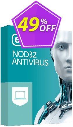 NOD32 Antivirus - Réabonnement 1 an pour 1 ordinateur Coupon, discount NOD32 Antivirus - Réabonnement 1 an pour 1 ordinateur marvelous promotions code 2019. Promotion: marvelous promotions code of NOD32 Antivirus - Réabonnement 1 an pour 1 ordinateur 2019