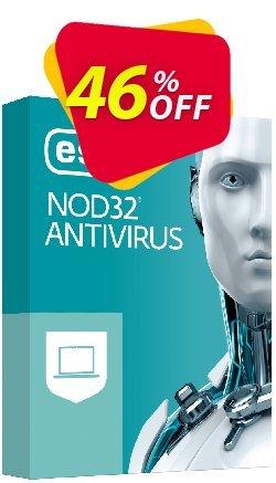 NOD32 Antivirus - Réabonnement 2 ans pour 2 ordinateurs Coupon, discount NOD32 Antivirus - Réabonnement 2 ans pour 2 ordinateurs formidable discounts code 2019. Promotion: formidable discounts code of NOD32 Antivirus - Réabonnement 2 ans pour 2 ordinateurs 2019
