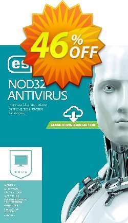 NOD32 Antivirus - Réabonnement 2 ans pour 3 ordinateurs Coupon, discount NOD32 Antivirus - Réabonnement 2 ans pour 3 ordinateurs wondrous discount code 2019. Promotion: wondrous discount code of NOD32 Antivirus - Réabonnement 2 ans pour 3 ordinateurs 2019