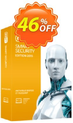 ESET Smart Security - Nouvelle licence 1 an pour 1 ordinateur Coupon discount ESET Smart Security - Nouvelle licence 1 an pour 1 ordinateur special sales code 2019. Promotion: special sales code of ESET Smart Security - Nouvelle licence 1 an pour 1 ordinateur 2019