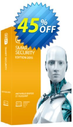 ESET Smart Security - Nouvelle licence 1 an pour 2 ordinateurs Coupon, discount ESET Smart Security - Nouvelle licence 1 an pour 2 ordinateurs stirring discount code 2019. Promotion: stirring discount code of ESET Smart Security - Nouvelle licence 1 an pour 2 ordinateurs 2019