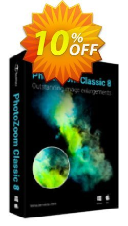 PhotoZoom Classic 8 Coupon discount PhotoZoom Classic 8 stunning offer code 2019. Promotion: stunning offer code of PhotoZoom Classic 8 2019