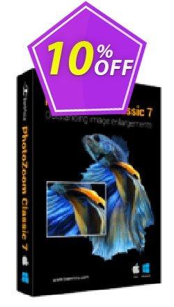 PhotoZoom Classic 7 Coupon, discount PhotoZoom Classic 7 excellent deals code 2021. Promotion: excellent deals code of PhotoZoom Classic 7 2021