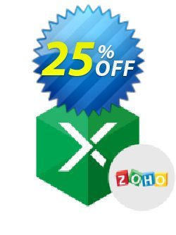 Excel Add-in for Zoho CRM Coupon discount Excel Add-in for Zoho CRM Exclusive sales code 2021 - imposing promotions code of Excel Add-in for Zoho CRM 2021