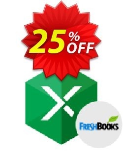 Excel Add-in for FreshBooks Coupon, discount Excel Add-in for FreshBooks Stunning promo code 2020. Promotion: fearsome discount code of Excel Add-in for FreshBooks 2020