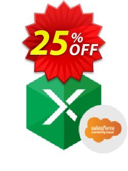 Excel Add-in for Salesforce Marketing Cloud Coupon discount Excel Add-in for Salesforce Marketing Cloud Awful discount code 2021. Promotion: hottest offer code of Excel Add-in for Salesforce Marketing Cloud 2021