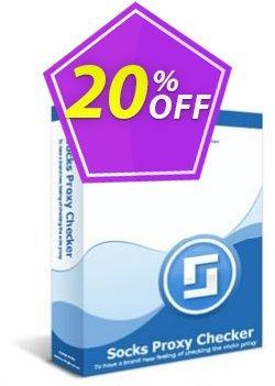 Socks Proxy Checker Professional Coupon, discount Socks Proxy Checker Professional formidable promotions code 2020. Promotion: formidable promotions code of Socks Proxy Checker Professional 2020