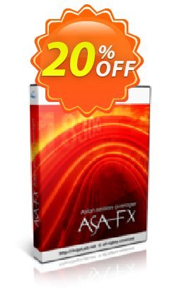 ASA FX Coupon, discount ASA FX fearsome promotions code 2020. Promotion: fearsome promotions code of ASA FX 2020