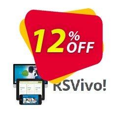 RSVivo! Single site Subscription for 12 Months Coupon, discount RSVivo! Single site Subscription for 12 Months Marvelous deals code 2020. Promotion: Marvelous deals code of RSVivo! Single site Subscription for 12 Months 2020