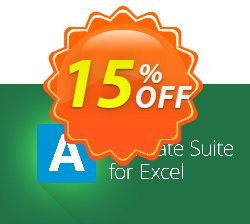 AbleBits Ultimate Suite for Excel - Business edition Coupon, discount AbleBits.com Ultimate Suite 2018 for Excel, Business edition formidable promo code 2019. Promotion: formidable promo code of AbleBits.com Ultimate Suite 2018 for Excel, Business edition 2019