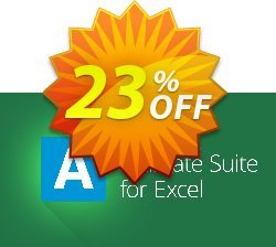 AbleBits Ultimate Suite 2018 for Excel - Terminal server edition Coupon, discount AbleBits.com Ultimate Suite 2018 for Excel, Terminal server edition awesome sales code 2019. Promotion: awesome sales code of AbleBits.com Ultimate Suite 2018 for Excel, Terminal server edition 2019