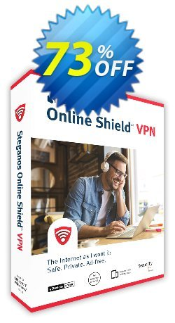 Steganos Online Shield VPN Coupon, discount 65% OFF Steganos Online Shield VPN, verified. Promotion: Wonderful promo code of Steganos Online Shield VPN, tested & approved