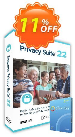 Steganos Privacy Suite 17 - ES  Coupon, discount Steganos Privacy Suite 17 (ES) exclusive promotions code 2020. Promotion: exclusive promotions code of Steganos Privacy Suite 17 (ES) 2020