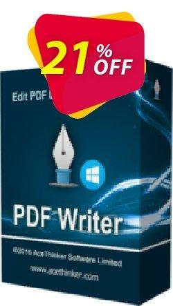 Acethinker PDF Writer lifetime - Academic  Coupon, discount PDF Writer (Academic - lifetime) awful sales code 2020. Promotion: awful sales code of PDF Writer (Academic - lifetime) 2020