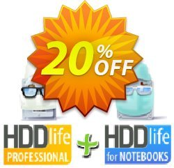 HDDLife bundle - Pro + Notebook  Coupon, discount HDDLife bundle staggering discount code 2019. Promotion: staggering discount code of HDDLife bundle 2019