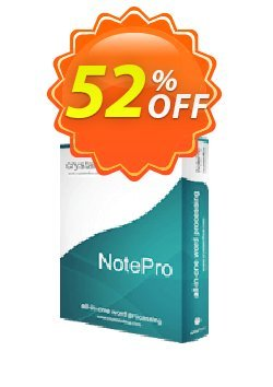 NotePro Coupon, discount NotePro formidable deals code 2020. Promotion: formidable deals code of NotePro 2020