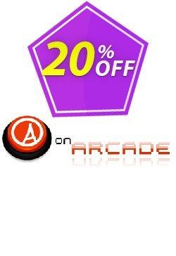 onArcade Coupon, discount onArcade wondrous deals code 2019. Promotion: wondrous deals code of onArcade 2019