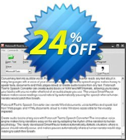 Pistonsoft Text to Speech Converter Coupon, discount Pistonsoft Text to Speech Converter (Personal License) impressive discount code 2021. Promotion: impressive discount code of Pistonsoft Text to Speech Converter (Personal License) 2021