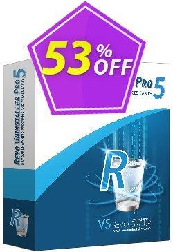 Revo Uninstaller PRO PORTABLE Coupon, discount 51 % off ALL edition Revo Uninstaller. Promotion: