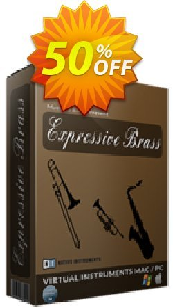 Expressive Brass Coupon, discount Expressive Brass Dreaded sales code 2021. Promotion: wondrous discount code of Expressive Brass 2021
