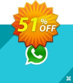 ExtensionCoder Joomla WhatsApp Support Extension - Pro Support Package  Coupon, discount 40% discount. Promotion: awful discount code of ExtensionCoder - Joomla - WhatsApp Support Extension - Pro Lifetime Package 2021