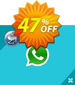 ExtensionCoder Joomla WhatsApp Virtuemart  Extension Coupon, discount 40% discount. Promotion: awesome offer code of ExtensionCoder - Joomla - WhatsApp Virtuemart  Extension - Basic Lifetime Package 2021