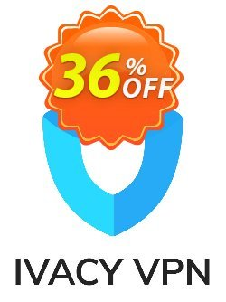 Ivacy VPN - 1 month  Coupon, discount 32% OFF Ivacy VPN (1 month) Feb 2021. Promotion: Staggering promo code of Ivacy VPN (1 month), tested in February 2021